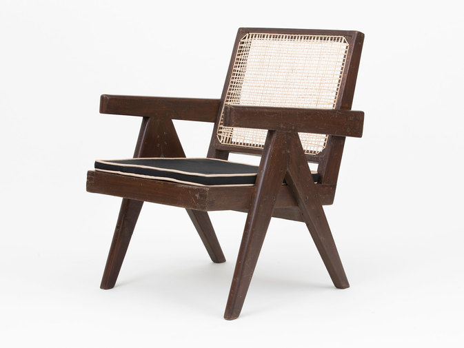 Pierre Jeanneret Low Lounge Chairs, image 2