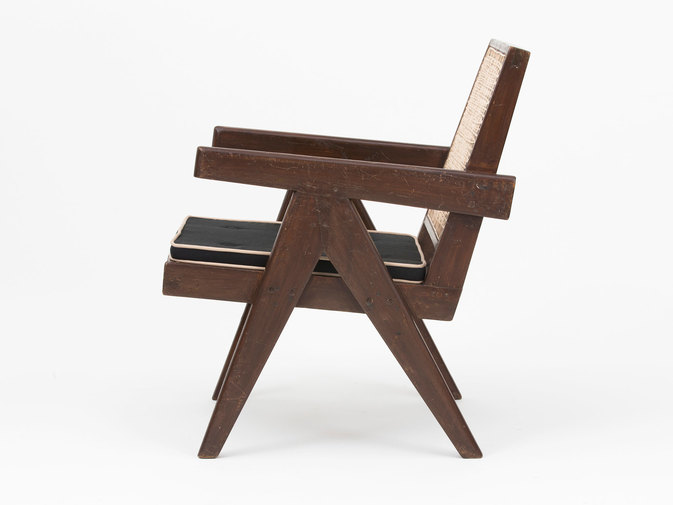 Pierre Jeanneret Low Lounge Chairs, image 3