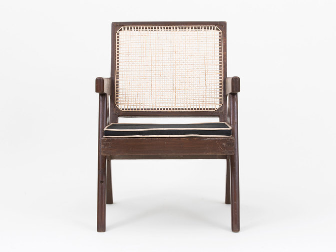 Pierre Jeanneret Low Lounge Chairs, image 4