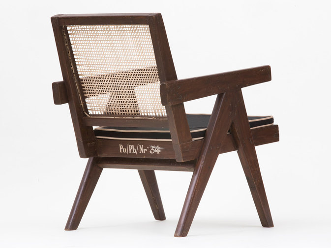 Pierre Jeanneret Low Lounge Chairs, image 9