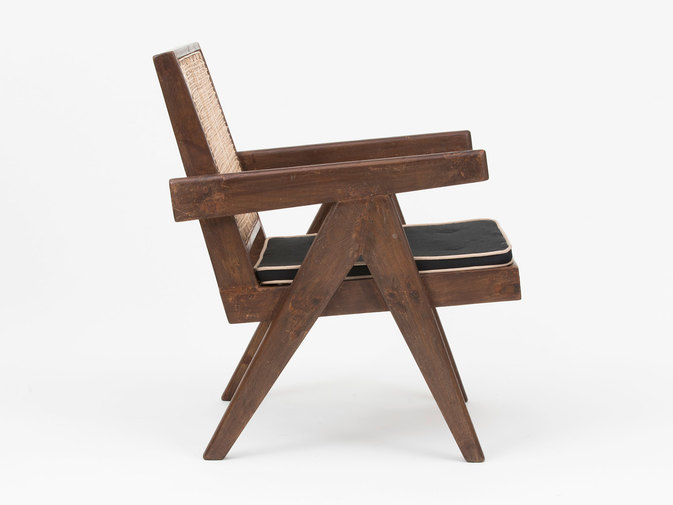 Pierre Jeanneret Low Lounge Chairs, image 10