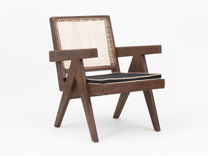 Pierre Jeanneret Low Lounge Chairs, image 12