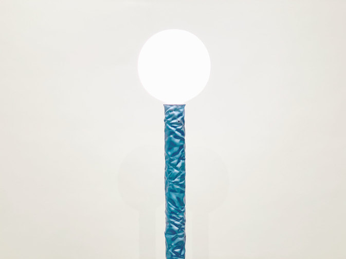 Christopher Prinz Wrinkled Floor Lamp (Blue), image 3