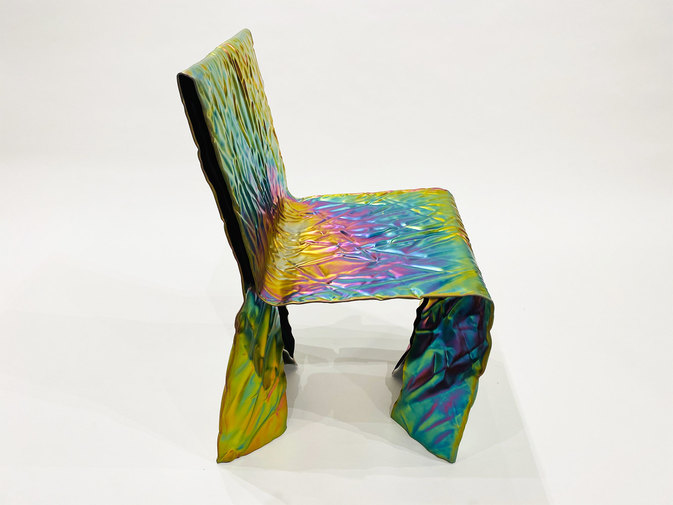 Christopher Prinz Wrinkled Chair, image 1