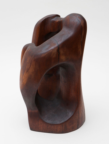 Modernist Wood Sculpture, image 2