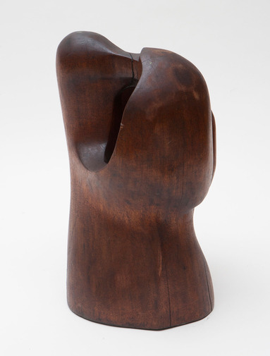 Modernist Wood Sculpture, image 3