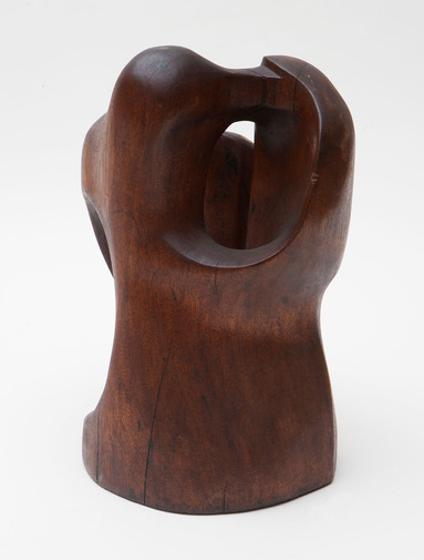 Modernist Wood Sculpture, image 4