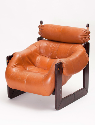 Percival Lafer Lounge Chair and Ottoman, image 3
