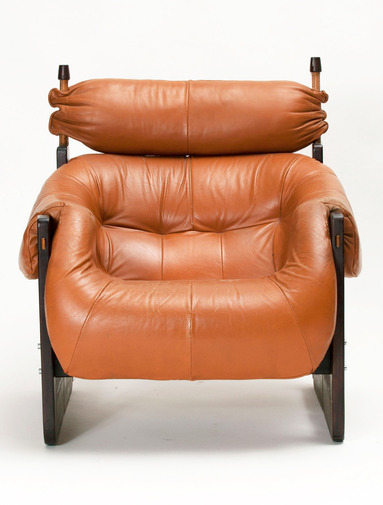 Percival Lafer Lounge Chair and Ottoman, image 2
