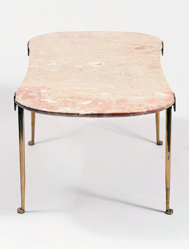 Marble and Brass Table, image 2