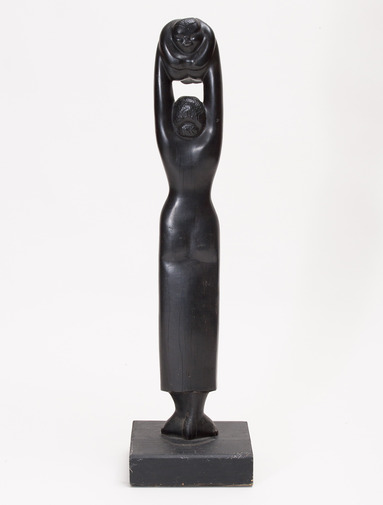 Woman and Child Sculpture, image 4