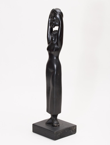 Woman and Child Sculpture, image 1