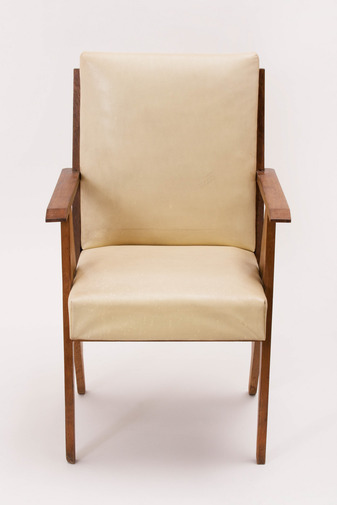 Modernist French Armchairs in the Manner of René Gabriel, image 5