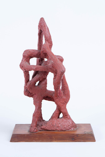 Abstract Plaster Sculpture, image 1