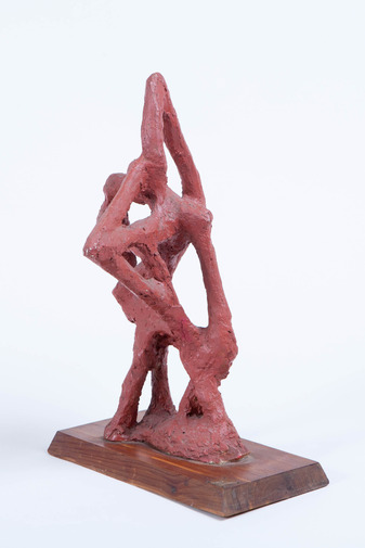 Abstract Plaster Sculpture, image 2
