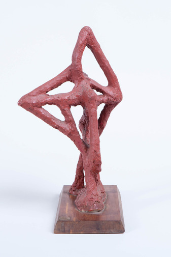 Abstract Plaster Sculpture, image 3
