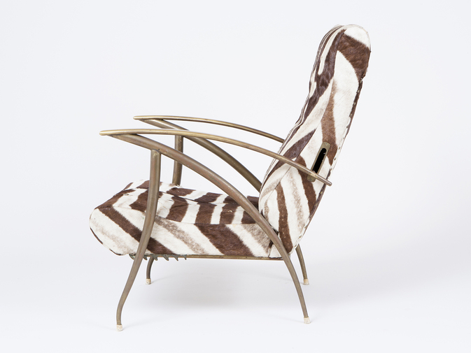 Zebra Chair, image 1