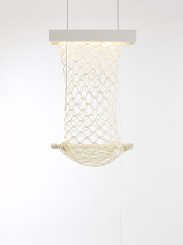 "Doug Johnston ""Net Sack (Night Light)"", image 1"