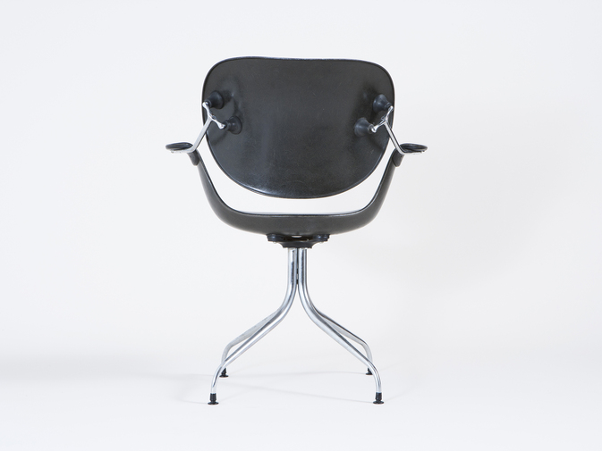 Charles Pollock Swag-leg Chair, image 7
