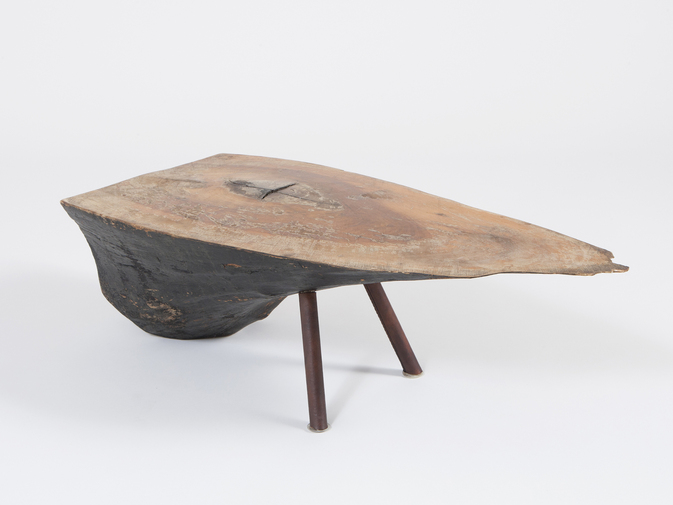 Carl Auböck Wood Side Table, image 1