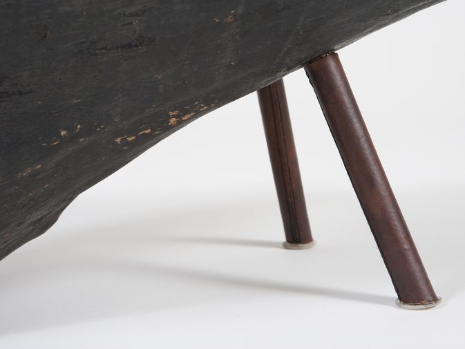 Carl Auböck Wood Side Table, image 2