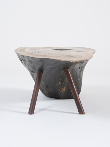 Carl Auböck Wood Side Table, image 3