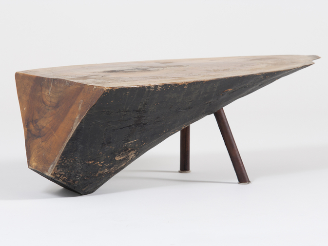 Carl Auböck Wood Side Table, image 5