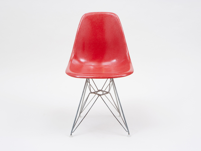 Eames DSR Shell Chairs with Eiffel Base, image 2