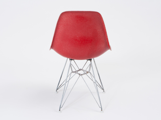 Eames DSR Shell Chairs with Eiffel Base, image 3