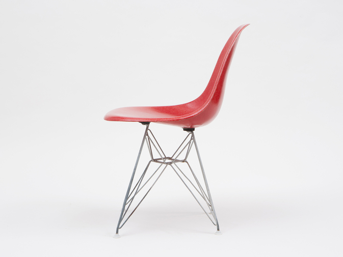 Eames DSR Shell Chairs with Eiffel Base, image 5