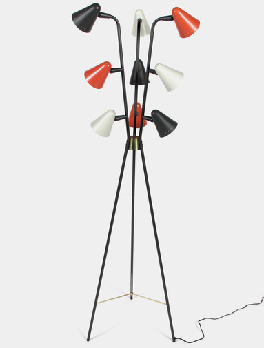 Gerald Thurston Floor Lamp, image 1