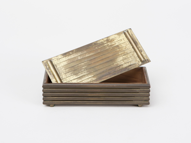 Modernist Brass Box, image 3
