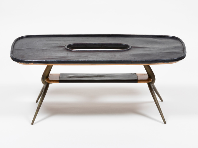 Carl Auböck Leather Table, image 3
