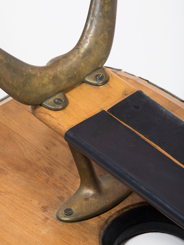 Carl Auböck Leather Table, image 6