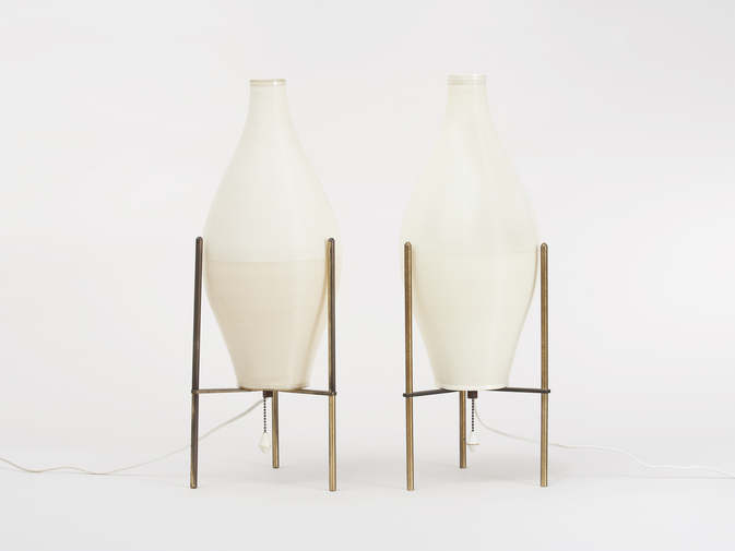Yasha Heifetz Pair of Lamps, image 1