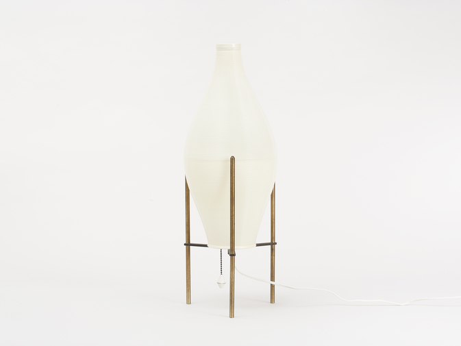 Yasha Heifetz Pair of Lamps, image 5