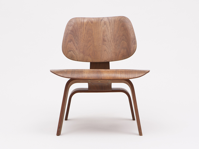 Charles & Ray Eames Pre-Production LCW Chair, image 1