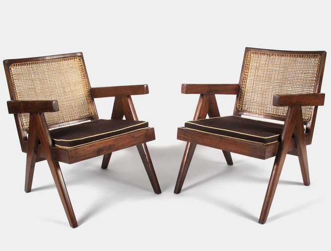 Pierre Jeanneret Lounge Chairs, image 7