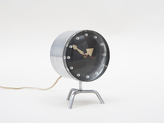 George Nelson Chronopak Table Clock, image 1