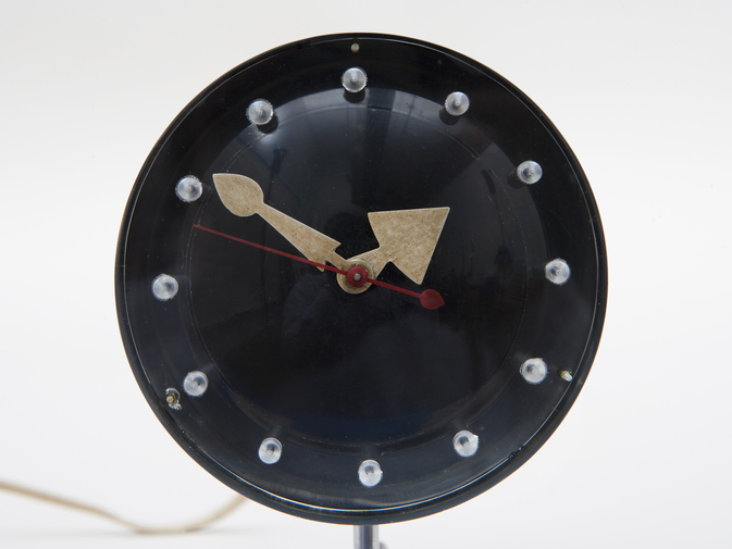 George Nelson Chronopak Table Clock, image 2