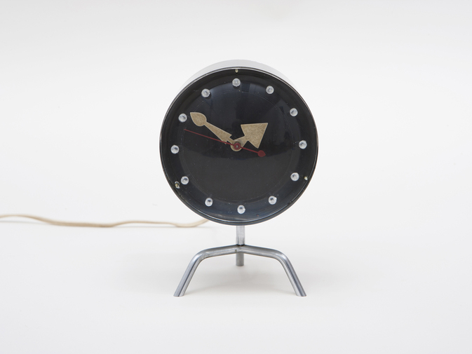George Nelson Chronopak Table Clock, image 5