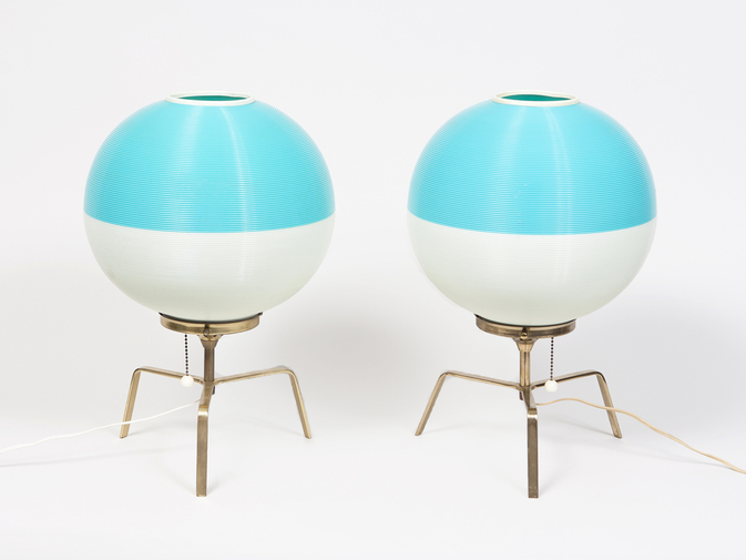Pair of Yasha Heifetz Lamps, image 1