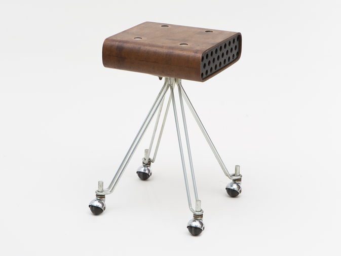 William Plumb for Eliot Noyes & Associates Prototype IBM Dictating Machine Stand, image 1