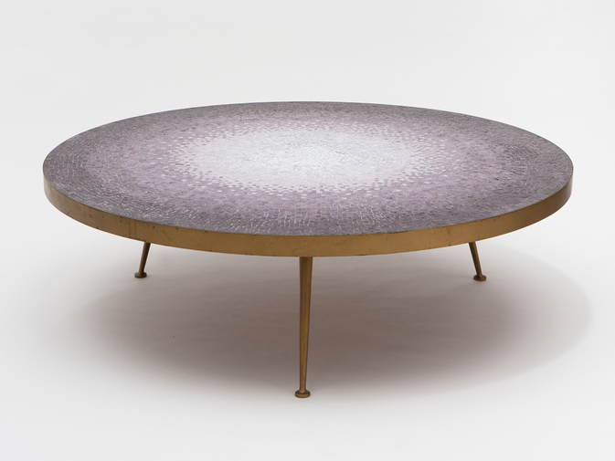 Modernist Mosaic Glass Table, image 1