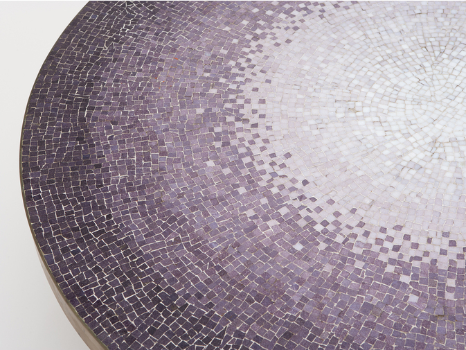 Modernist Mosaic Glass Table, image 2