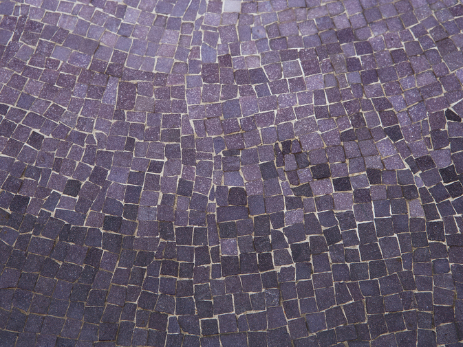 Modernist Mosaic Glass Table, image 3