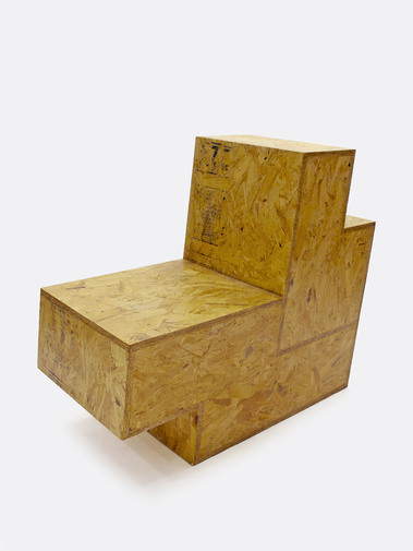 RO/LU Shape Chair Zag, image 1