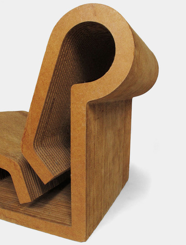 Frank Gehry Contour Chair, image 4