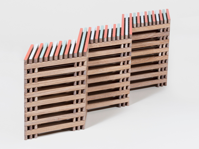 Ian Stell Threestool Bench, image 7