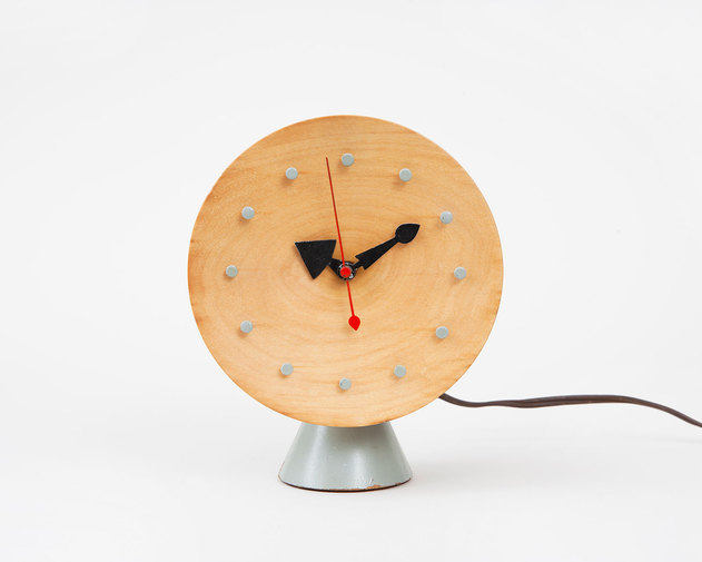Irving Harper for George Nelson & Associates Chronopak Table Clock, image 1